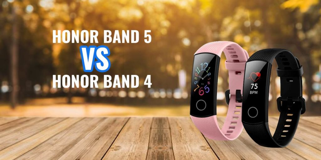 Honor Band 5 Vs Honor Band 4