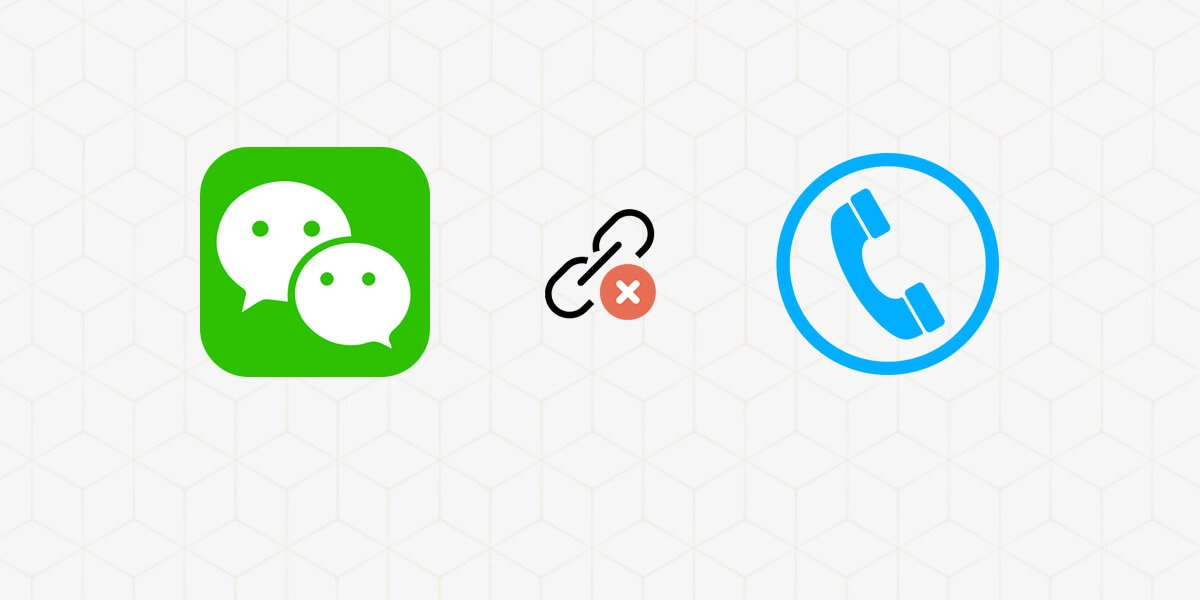 Wechat up i phone without sign number can FREE WECHAT