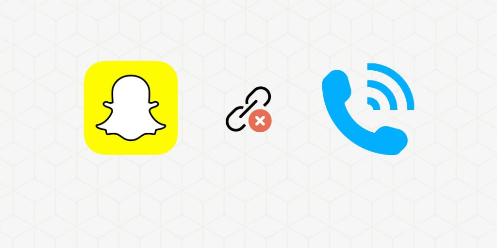 How to Unlink phone numbers from Snapchat
