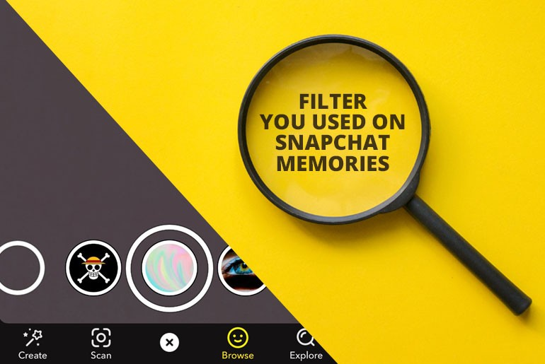 How To Find Out What Filter You Used On Snapchat Memories | Favorite snapchat filters