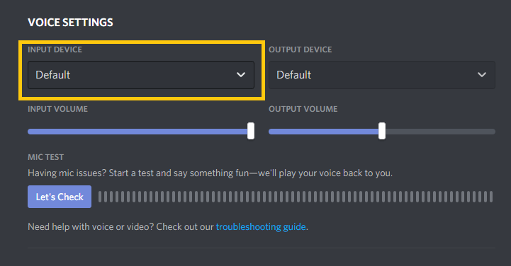 use voxal on discord