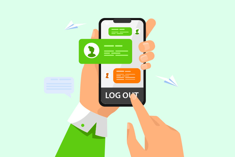 How To Logout From Kik Messenger Safely Without Deleting Messages
